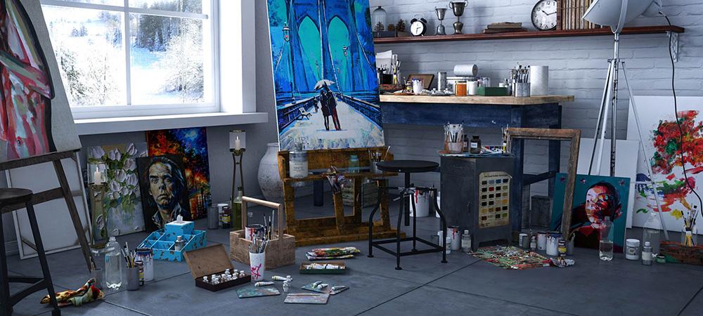 ruang santai seni