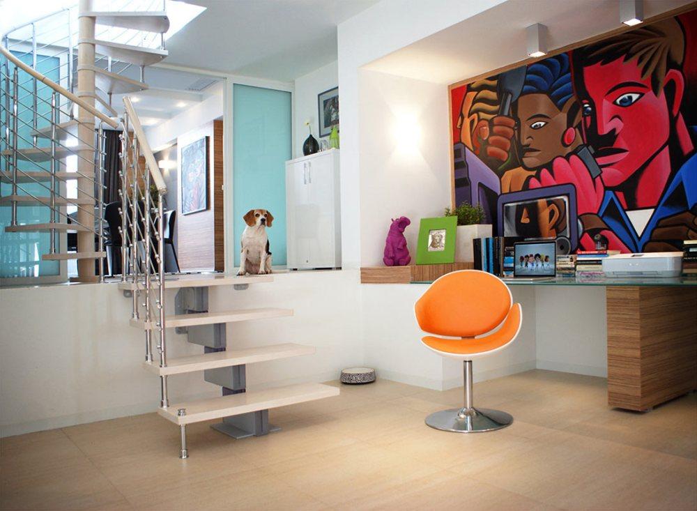 ruangan kantor dekorasi
