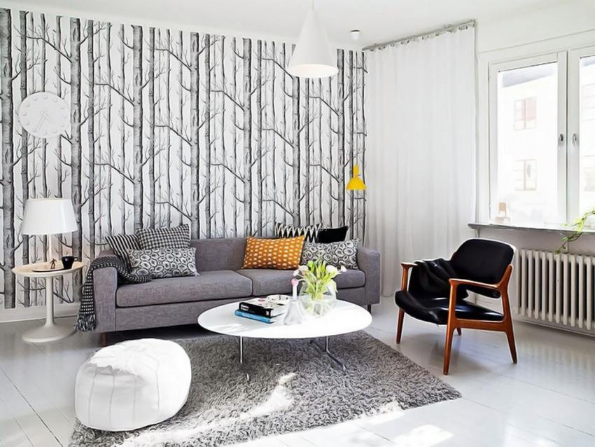 wallpaper dinding rumah skandinavia