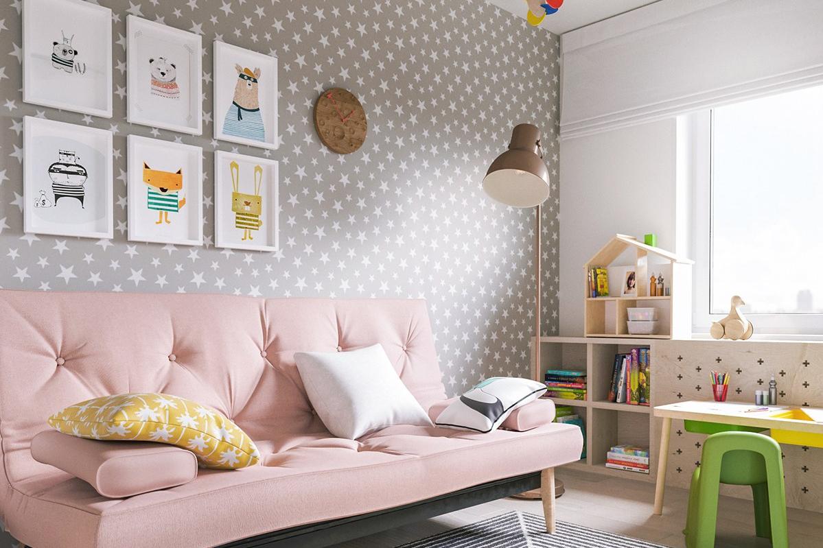 12 Trik Dapatkan Interior Sempurna Dengan Wallpaper Dinding Rumah Sticker Garis