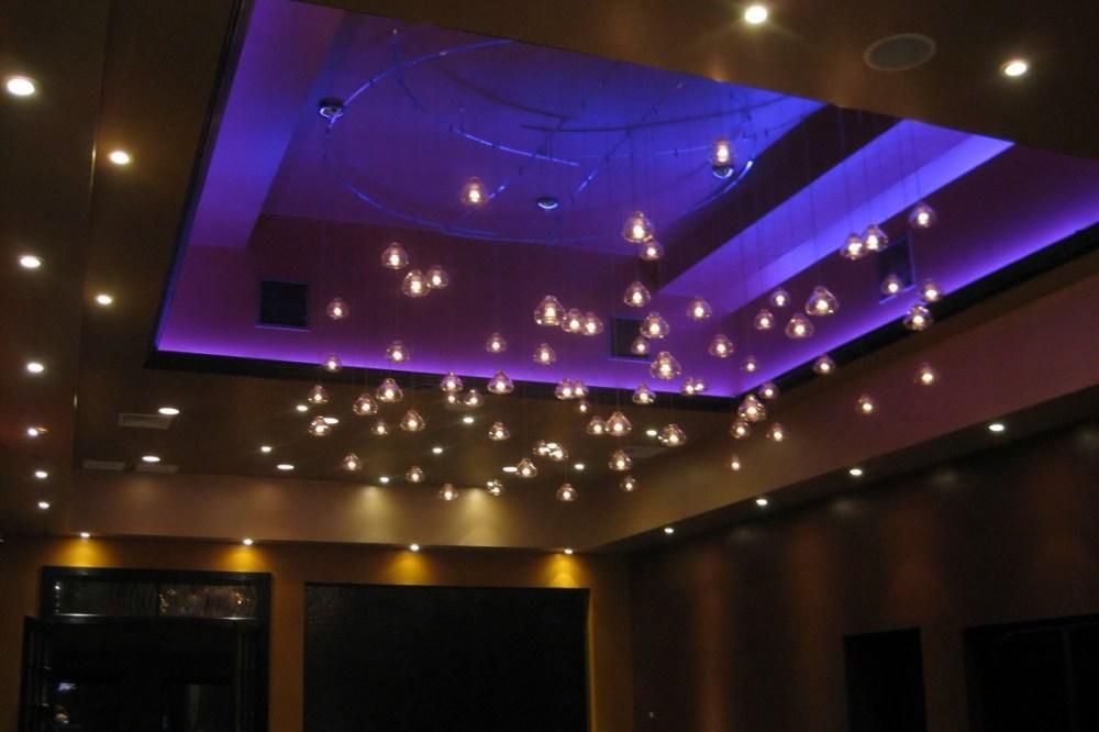 Dekorasi Lampu LED Plafon Ruang Tamu