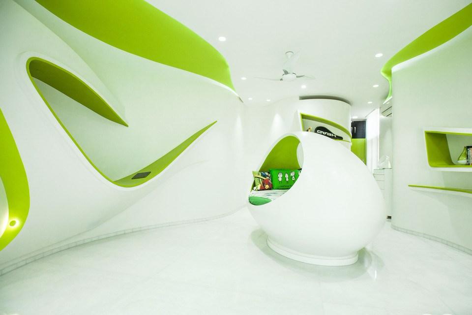 8 Ciri Desain Futuristik Gaya Desain Interior Masa Depan