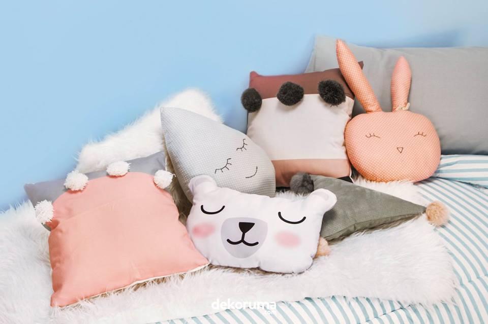 cushion boneka dekorasi kamar anak