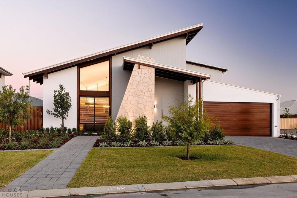 Desain Atap Rumah Skillion