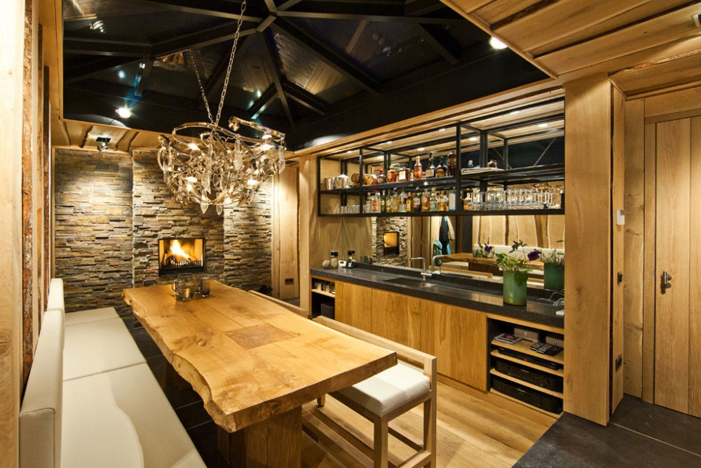 Desain Dapur Dan Ruang Makan Kayu