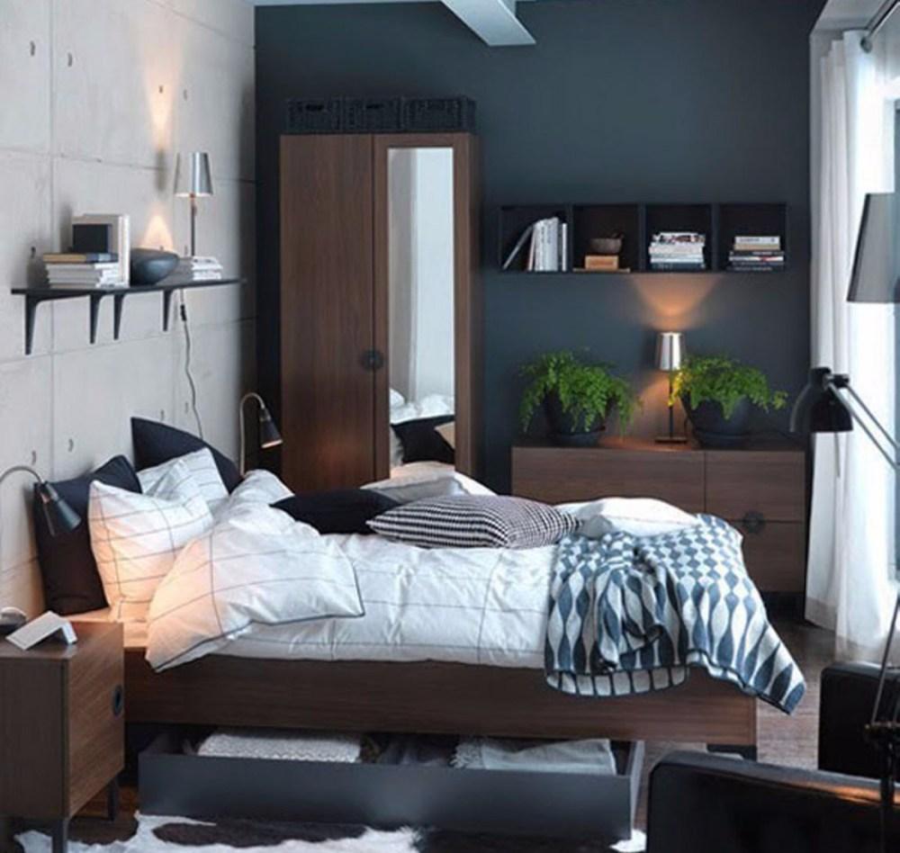 Desain Kamar Tidur Ukuran 3x3 Lampu