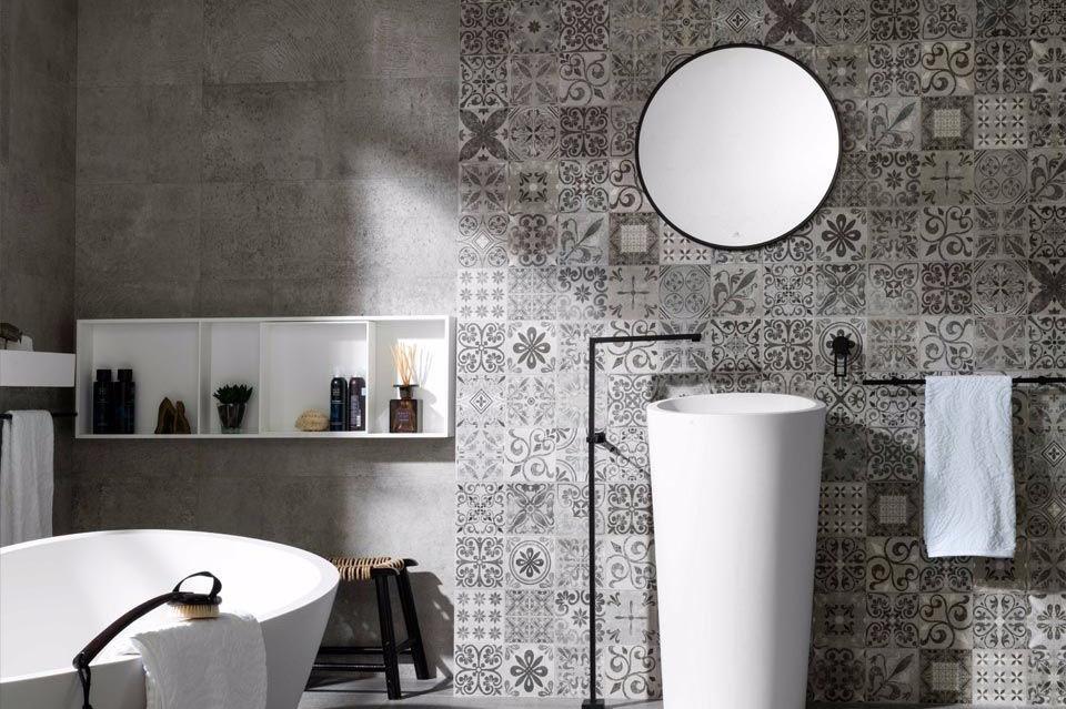 7 Desain Keramik Dinding Kamar Mandi Ini Bisa Bikin Kamu