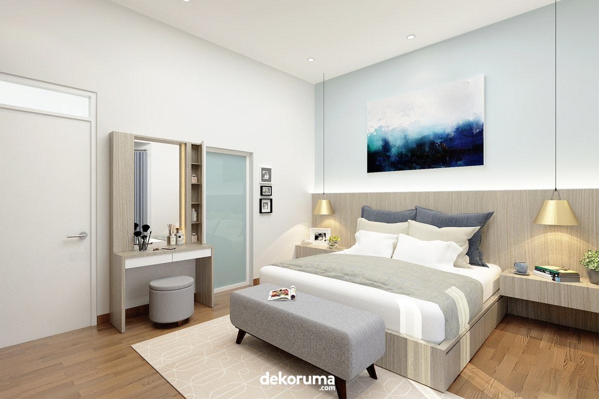5 Dekorasi yang Nggak Boleh Kelupaan di Kamar Tidur Utama