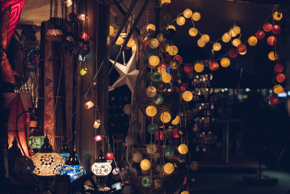 lampu dekorasi natal