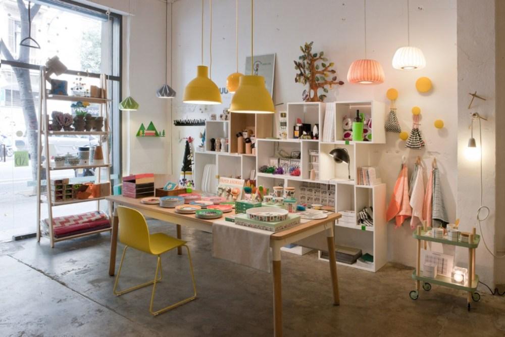 desain toko dengan ragam dekorasi menggemaskan