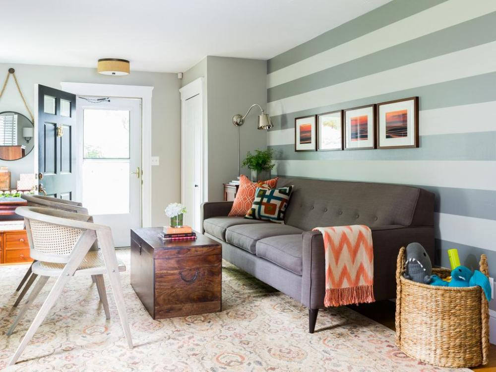 Ruang Tamu Warna  Cat  Rumah  Kayu  Bagian Dalam  Content