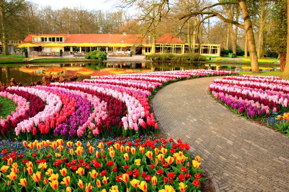 Arsitektur Lanskap Keukenhof Gardens