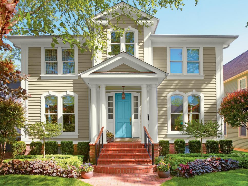 Model Rumah Klasik Warna