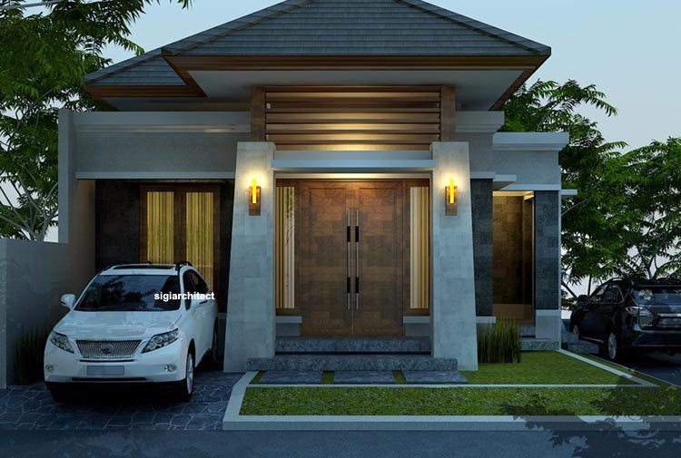 Contoh Denah Rumah Persegi Panjang 7 tipe rumah terpopuler di indonesia