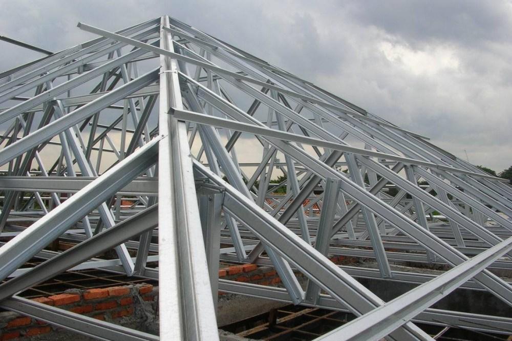 Rangka atap baja ringan memiliki ketahanan jangka panjang