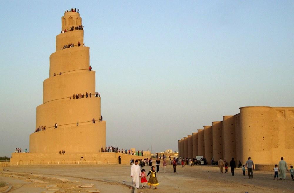 Arsitektur Islam Masjid Agung Samara di Irak