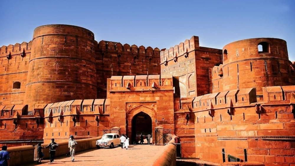 Arsitektur Islam Benteng Agra di India