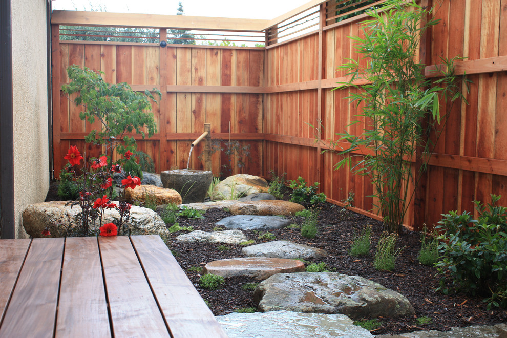 Zen garden teras sempit