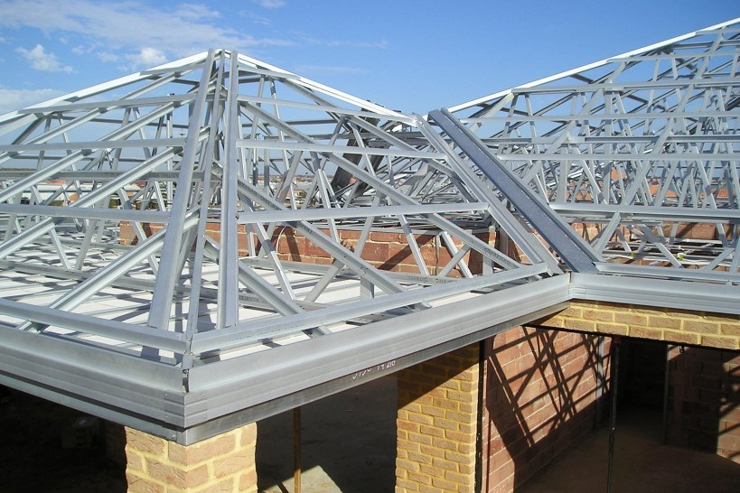 contoh rangka atap baja ringan minimalis 7 kelebihan masa kini