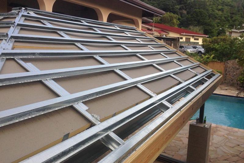 rangka baja ringan untuk atap asbes 7 kelebihan masa kini
