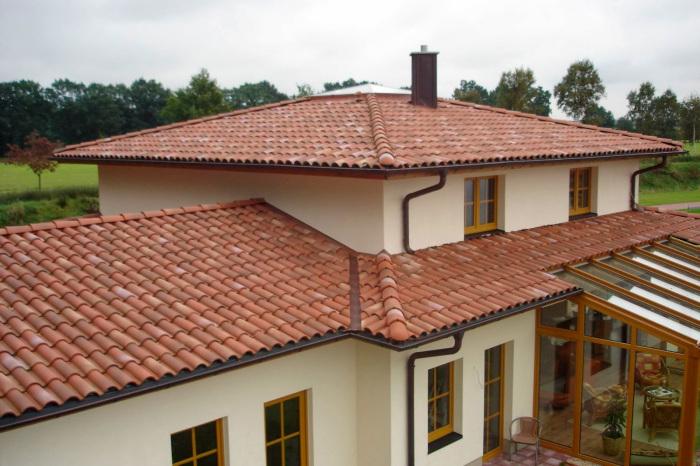Atap Rumah Tanah Liat