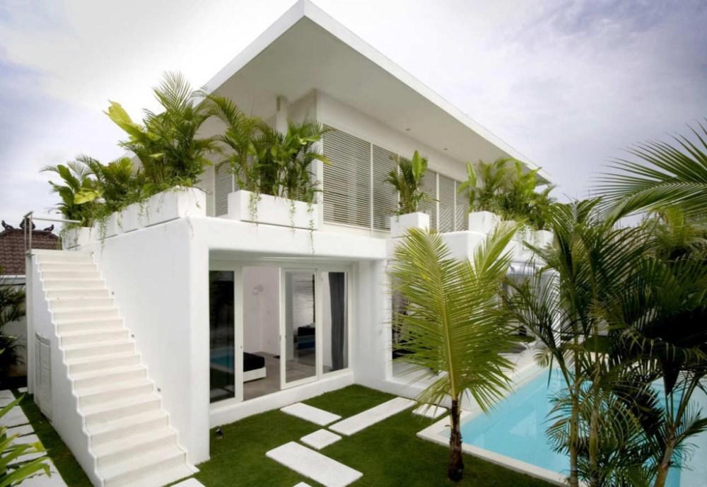 Rumah Tropis Modern Villa Bali