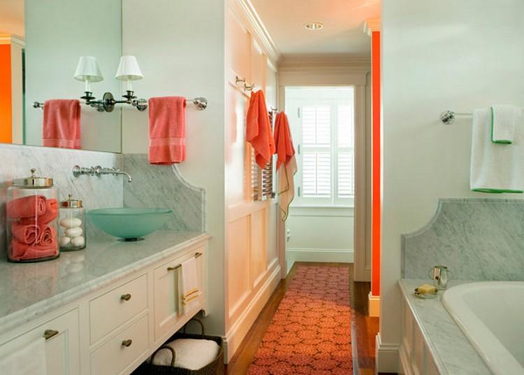 Warna salem untuk kamar mandi yang lebih menyegarkan