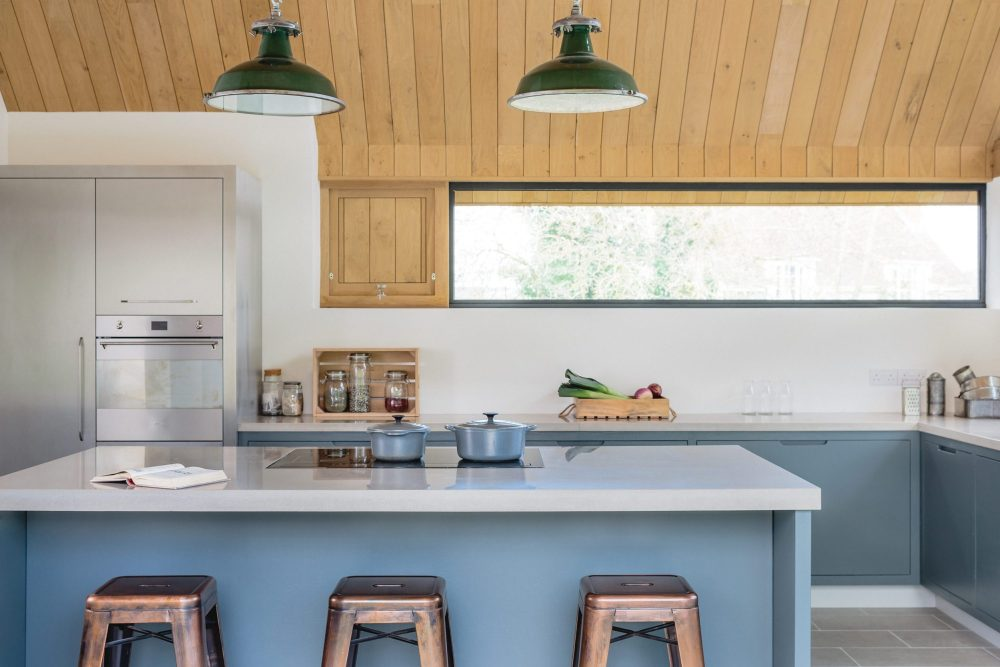 Dapur minimalis modern tanpa lemari atas