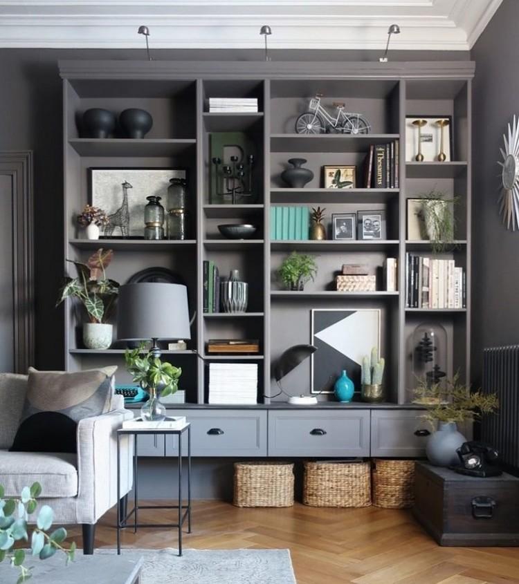 8 Inspirasi Rak Minimalis Untuk Ruang Tamu Yang Gaya