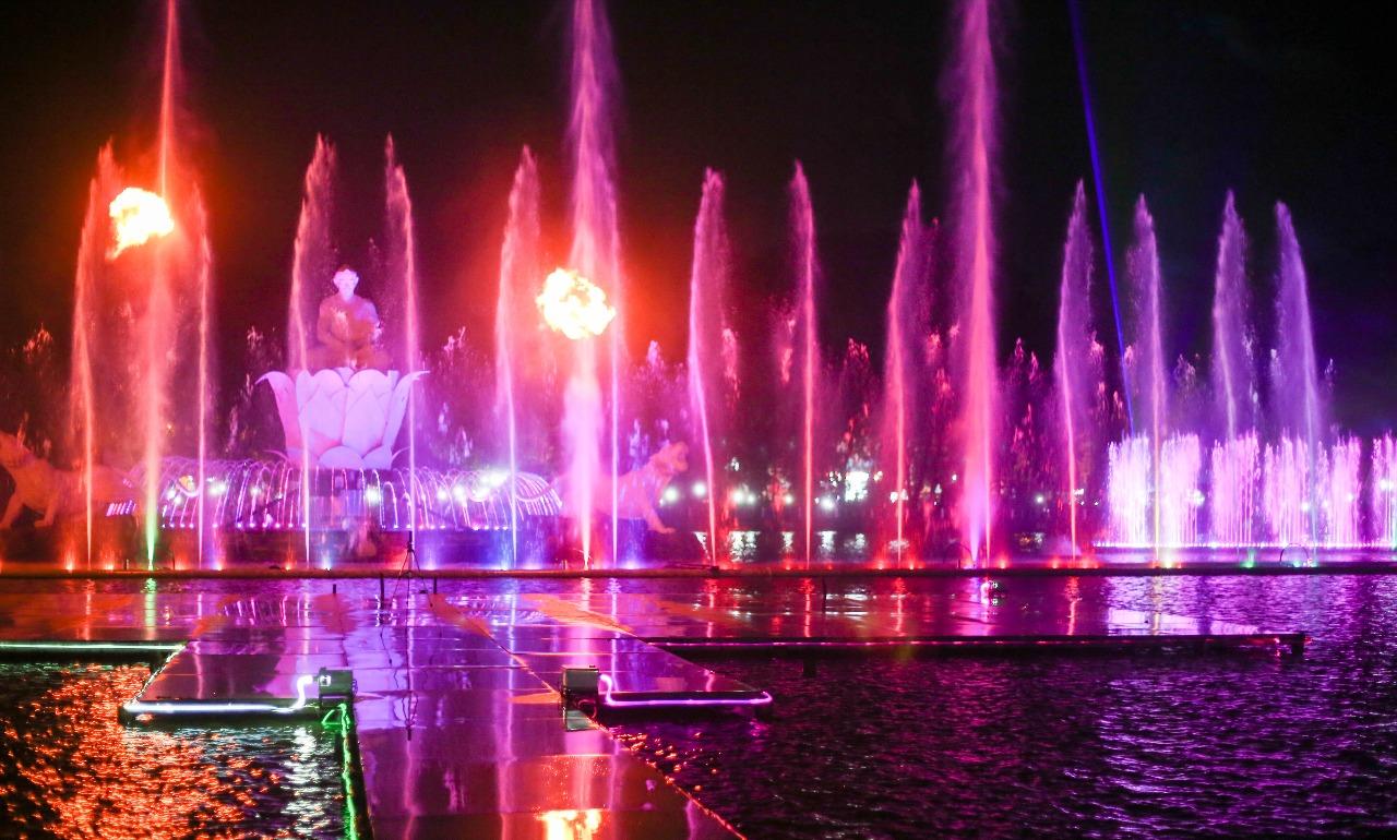 Taman Air Mancur Menari Surabaya