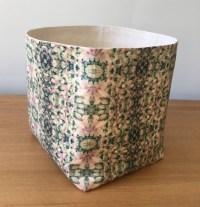 Amazing Sale Green Large Soft Fabric Basket Bucket Storage ...