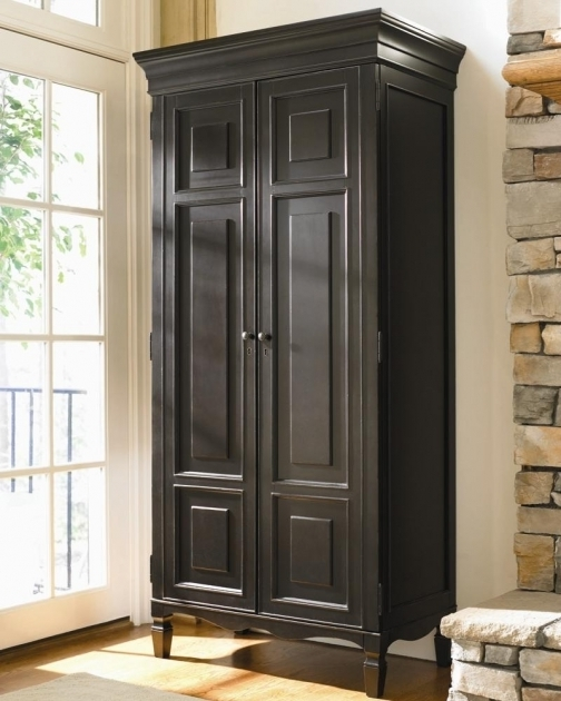 Tall Wood Storage Cabinets With Doors And Shelves