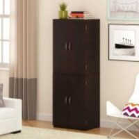 Best Mainstays Storage Cabinet Cinnamon Cherry Latest Top