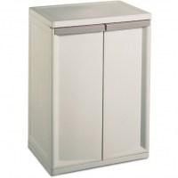 Fantastic Sterilite 2 Shelf Storage Cabinet Walmart ...