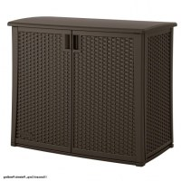 Gorgeous Suncast 97 Gal Resin Outdoor Patio Cabinet ...