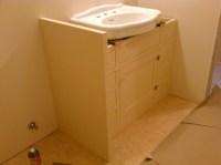 Image of Attractive Under Pedestal Sink Storage Cabinet ...