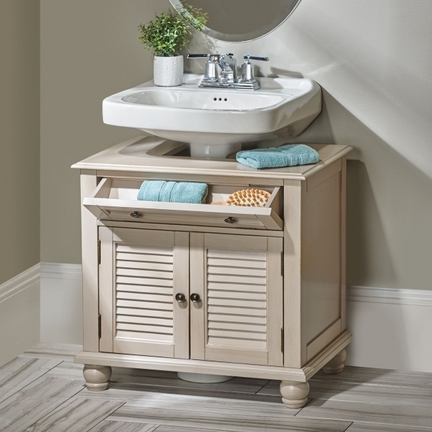 Bathroom Pedestal Sink Storage Cabinet  Storage Designs