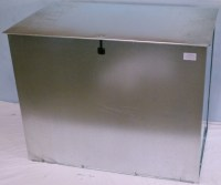 Picture of Galvanized Corn Animal Feed Storage Bin Wrought ...