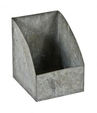 Galvanized Metal Storage Bins - Storage Designs