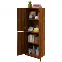 Stylish Mainstays Storage Cabinet Multiple Finishes