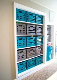 Milk Crate Storage Bin - Storage Designs