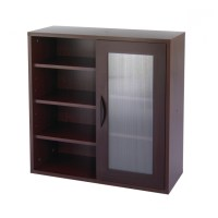 Stylish Wood Storage Cabinets With Doors And Shelves Home