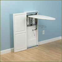Ironing Board Storage Cabinet - Storage Designs
