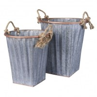 Galvanized Storage Bins - Storage Designs