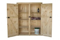 Fantastic Tall Wood Storage Cabinets With Doors And