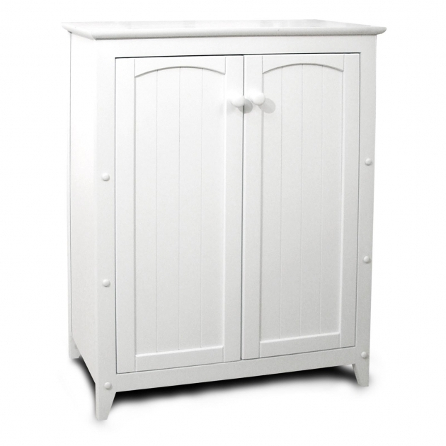 Picture of Narrow Storage Cabinet With Doors Creative