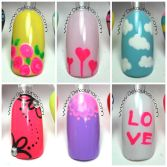 Video uñas faciles con Dotting PARTE II