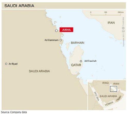 Total Saoedi Arabie