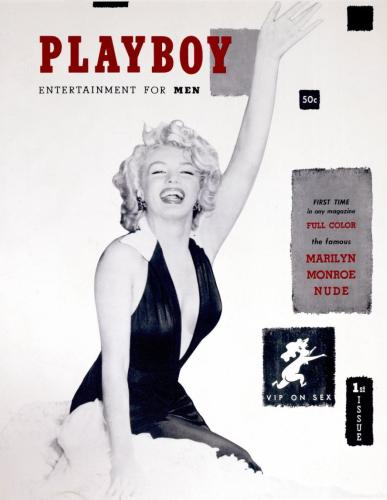 Marylyn Monroe 1953 Playboy