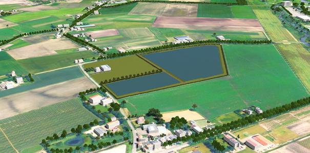 Impressie Zonnepark Roosendaal TomorrowEnergy